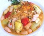 Chicken Cacciatore With Artichokes
