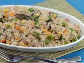Chick Pea And Mint Rice (healthy Heart & Low Cholesterol Recipe) By Tarla Dalal