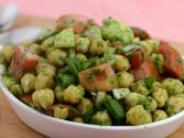 Chickpea Salad With Mint Dressing (low Cholesterol) By Tarla Dalal