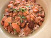 Chicken, Oyster, And Sausage Gumbo