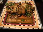 Chicken-lemon-olive-tagine Part # 1