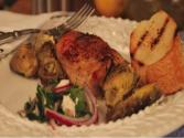 Chicken & Artichokes With Parsley Salad