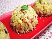 Chicken And Vegetable Fried Rice (닭 야채 볶음밥)
