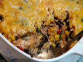 Chicken Brown Rice Casserole - Texmex