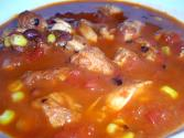 Beef, Bean, And Corn Chili