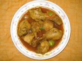 Chicken Curry With Green Pepper