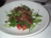 Warm Chicken Liver Salad With Honey And Mustard Dressing