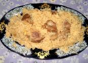 Simple rice Pilaf With Chicken