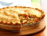 Roasted Chicken Pot Pie 