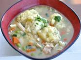 Quick And Easy Chicken Stew With Drop Dumplings