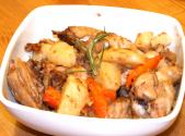 Chicken With Vegetables And White Wine