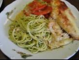 Mozzarella Grilled Chicken Gratin With Pasta Genovese