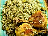 Baghali Polo Ba Morgh (chicken Fava Beans Rice)