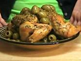Chicken With Olives - Moroccan Tajine