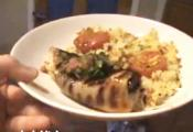 Chilli Lime Haddock With Couscous And Salsa