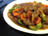 Chinese Beef And Capsicums