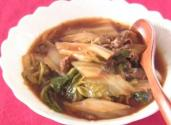 Tasty Simmered Pork And Chinese Cabbage