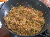 Chinese Style Fried Brown Rice