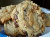 Choc Chip Caramel Cookies
