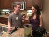 Chocolate Almond Butter Smoothie - Jon And Julieanna In The Kitchen