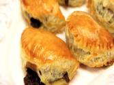 Chocolate Chaussons / Turnovers Homemade