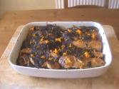 Marmalade Chocolate Chip Pudding