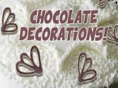 How To Make Chocolate Decorations