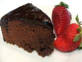 Lynn&#039;s Valentine&#039;s Day-chocolate Ganache Cake 