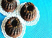 Sugar Free Chocolate Mini-bundt Cakes