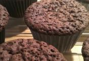 Baked Chocolate Mousse Muffins