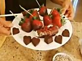 Superfood Chocolate Truffles And Dipped Fruit (1/2)超級生食水果沾松露巧克力