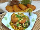Chole Tikki Chaat- Indian Street Food/snacks Collaboration