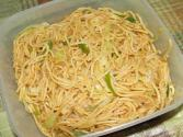 Chowmein With Onions, Band Gobhi And Shimla Mirch