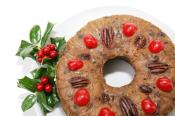 Dark Christmas Fruit Cake
