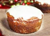 Christmas Gingerbread Muffins