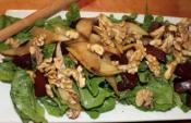 Christmas Time Pear And Beet Salad
