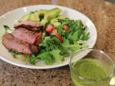 Cinco De Mayo Mexican Steak Salad With Cilantro Lime Dressing
