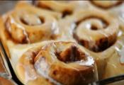 Eggless Cinnamon Rolls