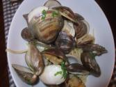 Fresh Clams And Pasta Linguini