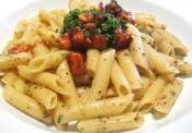 Classic Penne With Salmon And Greens