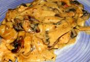 Classic Turkey Marsala