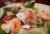 Quick Shrimp Cobb Salad
