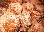 Cocoa Bourbon Balls