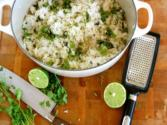 Coconut Lime Cilantro Rice