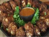 Coconut Wings With Spicy Mango Ginger Sauce