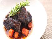 Coffee-rubbed Braised Short Ribs