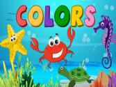Learn Colors - Under The Sea For Kids, Baby, Toddler Preschool Activity
