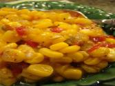 Sweet Corn And Red Bell Peppers