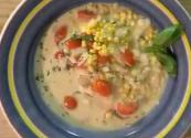 Creamy Corn Chowder With Light Cream