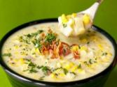 Corn And Pepper Chowder
